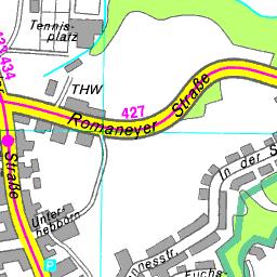 Stadtplan Bergisch Gladbach