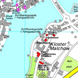 Mecklenburgische Seenplatte Karte Pdf.Stadtplan Malchow