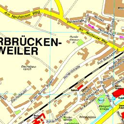 Stadtplan Saarbrücken-Dudweiler