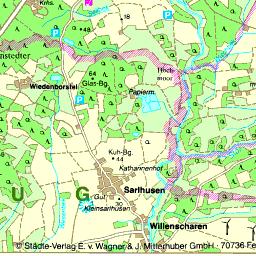 Ostseeradweg Karte.Karte Rendsburg Eckernförde