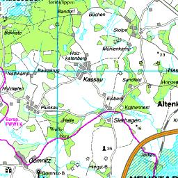 Schwanitz Schleswig Holstein Karte.Karte Ostholstein