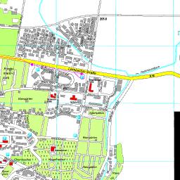 Nordhausen Karte.Stadtplan Nordhausen