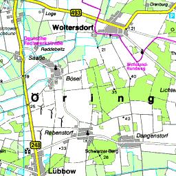 Kulturelle Landpartie Karte.Karte Luchow Dannenberg