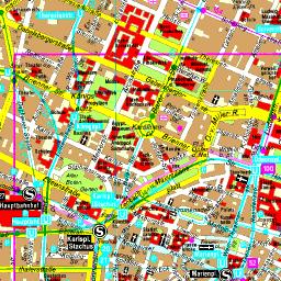 Stadtplan München Zentrum