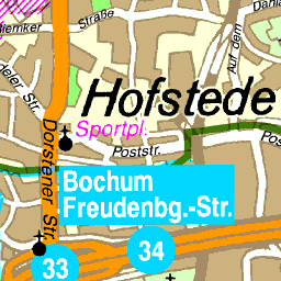Bochum Karte.Karte Bochum