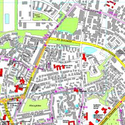 Husum Karte.Stadtplan Husum