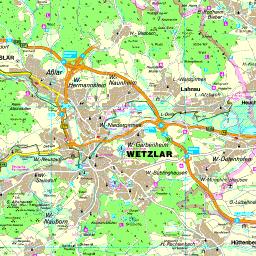 wetzlar karte Karte Lahn Dill Kreis wetzlar karte