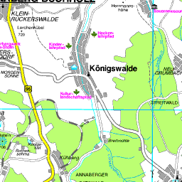 Bergbau Erzgebirge Karte.Karte Erzgebirgskreis