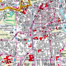 Karte Lüneburger Heide Und Umgebung.Stadtplan Hansestadt Lüneburg
