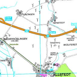 Karte Sachsen Anhalt Mit Flüssen.Karte Mansfeld Südharz