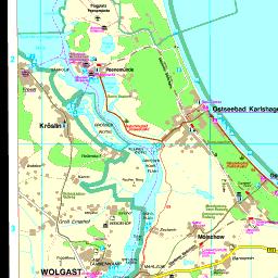 Insel Usedom Karte.Karte Usedom
