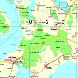 Skandinavien Karte Zum Ausdrucken.Karte Usedom