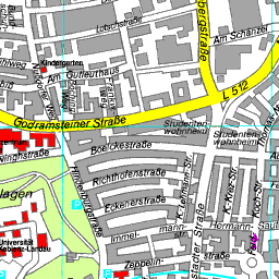 Stadtplan Landau In Der Pfalz