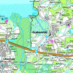 Chiemsee Karte Region.Karte Chiemsee