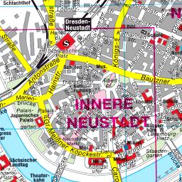 Prag Karte Sehenswurdigkeiten.Stadtplan Dresden