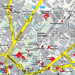 Eifel Karte Pdf.Stadtplan Aachen