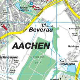 Aachen Karte Stadtteile.Stadtplan Aachen