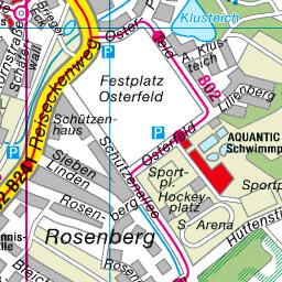 Goslar Karte.Stadtplan Goslar