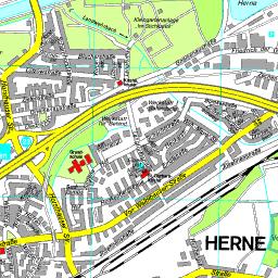 Herne Karte Stadtteile.Stadtplan Herne