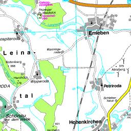 Landkreis Gotha Karte.Kreiskarte Gotha