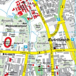 Leipzig Karte Mit Stadtteilen.Stadtplan Leipzig