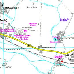 Karte Sachsen Anhalt Mit Flüssen.Karte Börde