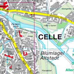 Stadtplan Celle