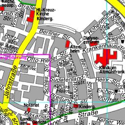Elsass Karte Zum Ausdrucken.Stadtplan Weissenburg