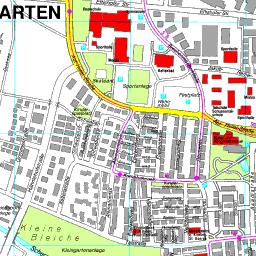 Stadtplan Weingarten