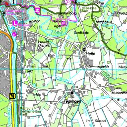 Emsland Karte.Karte Emsland