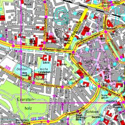 Fussgangerzone Oldenburg Karte.Stadtplan Oldenburg
