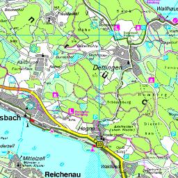 Insel Reichenau Karte.Karte Landkreis Konstanz