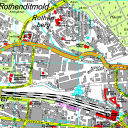 Karte Kassel Und Umgebung.Stadtplan Kassel