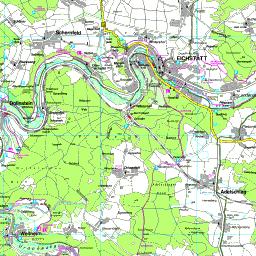 Landkreise Mittelfranken Karte.Karte Eichstatt