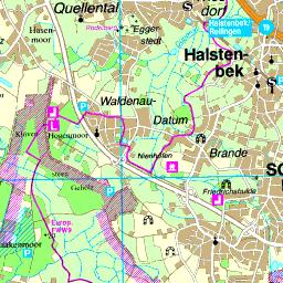 Karte Landkreis Pinneberg
