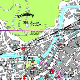 buy popular bcb13 21dd8 Stadtplan Waldkirch