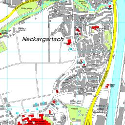 Region Heilbronn Franken Karte.Stadtplan Heilbronn