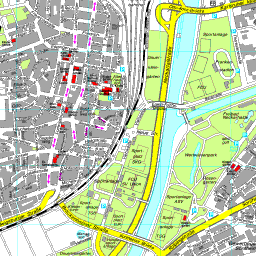 Heilbronn Karte Stadtplan.Stadtplan Heilbronn