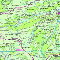 oberallgäu karte Karte Oberallgäu