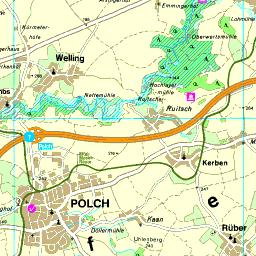 Karte Koblenz.Karte Mayen Koblenz