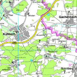 Landkreis Augsburg Karte.Karte Aichach Friedberg