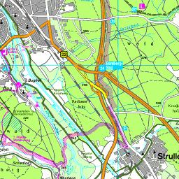Karte Bamberg.Karte Bamberg