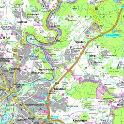 Karte Kassel Und Umgebung.Karte Landkreis Kassel